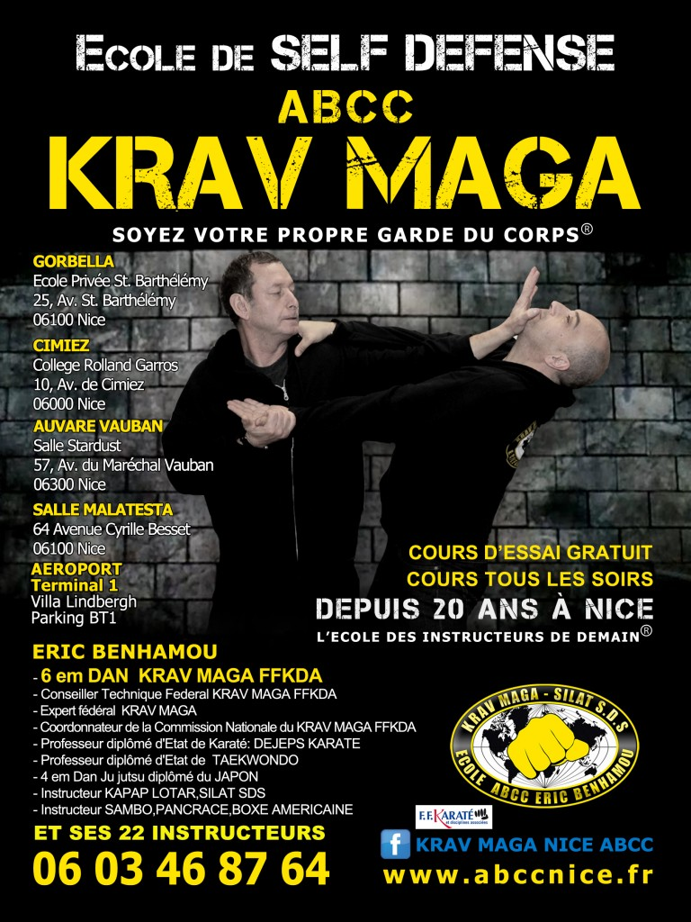 Ecole de Self-Defense ABCC Krav Maga - Soyez votre propre garde du corps