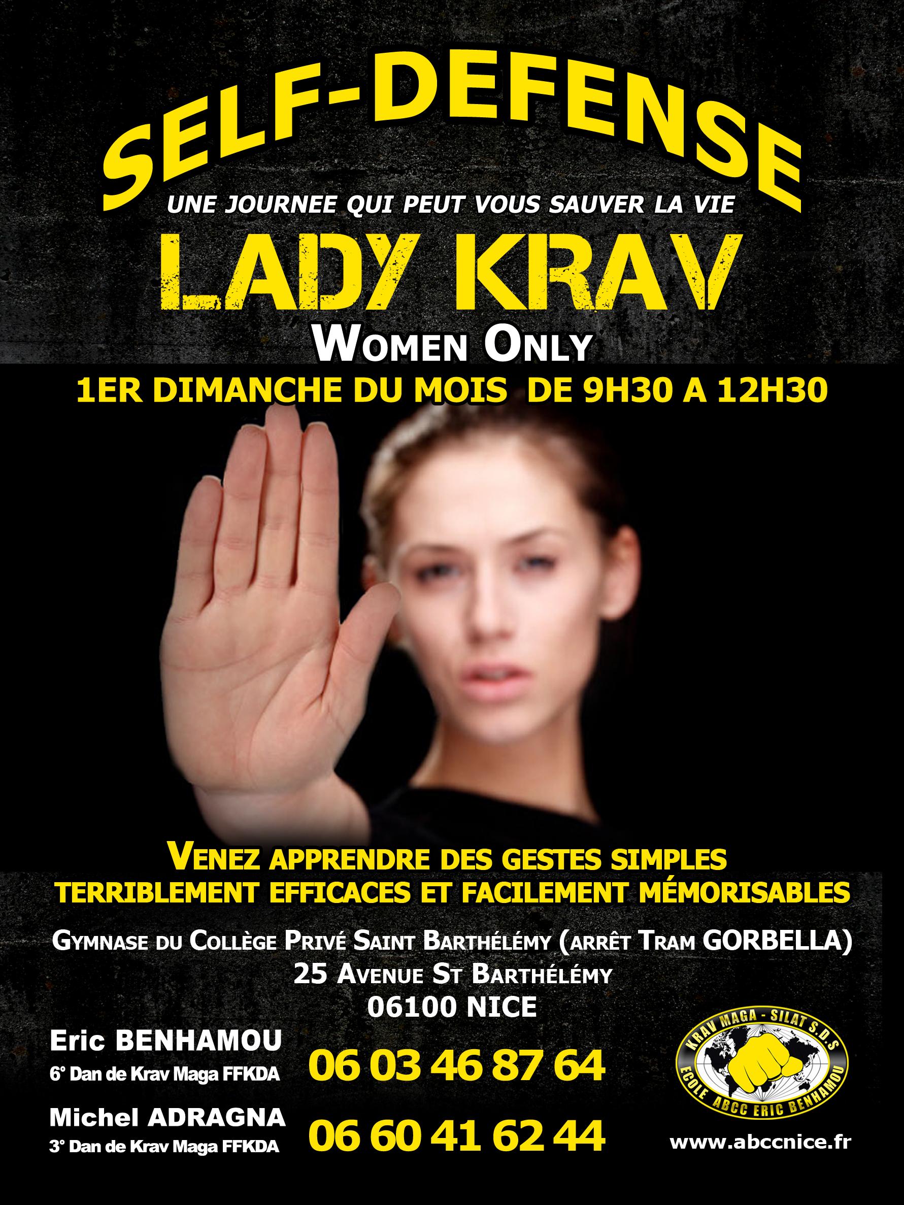 ABCC Lady Krav - Self-Defense pour les femmes