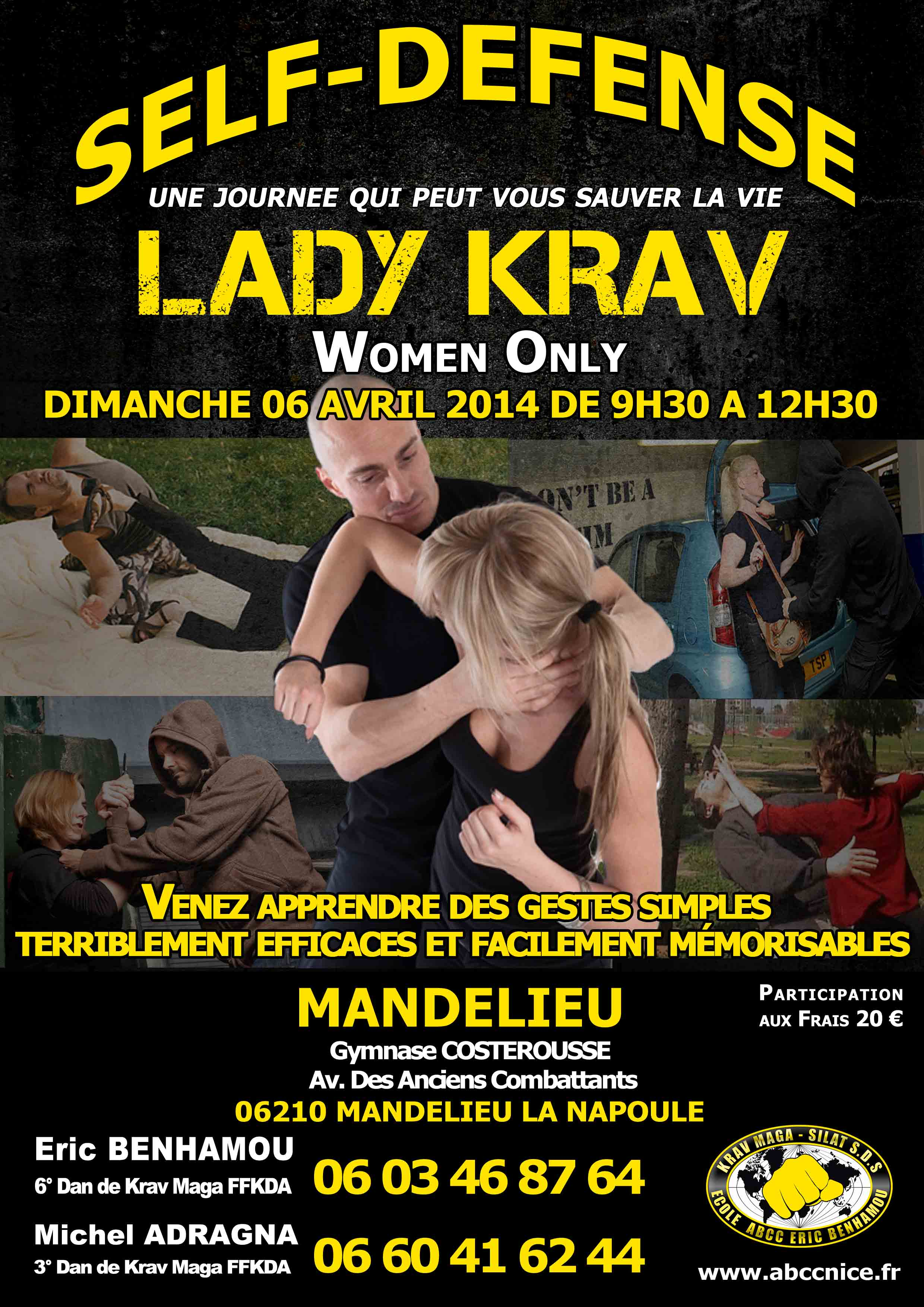 lady krav mandelieu avril