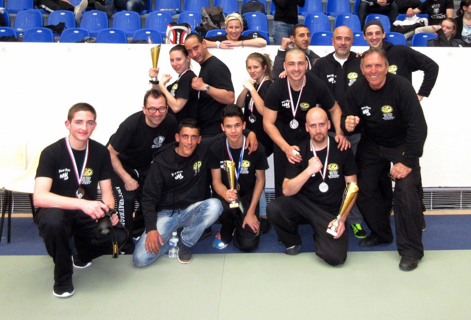 Victoire du Club ABCC Nice Krav Maga