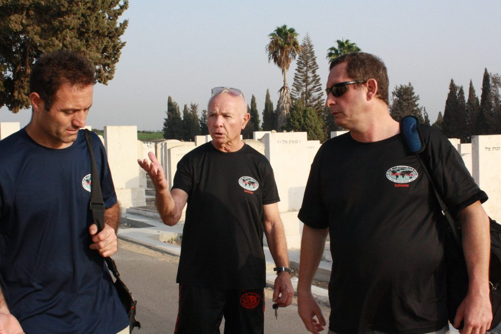Gaby Noah, Oscar Klein et Eric Benhamou
