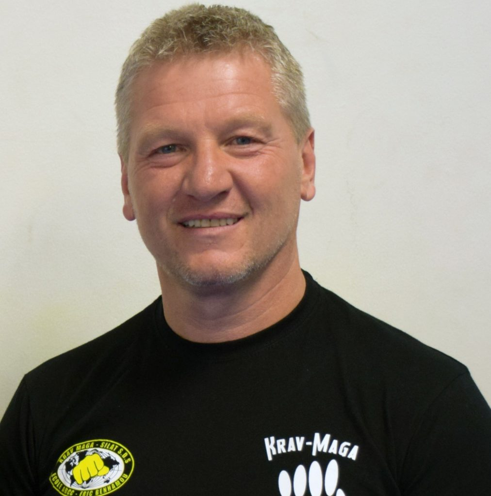 Hervé Pescarzoli ceinture noir Krav Maga 1ere Dan FFK