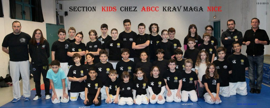 Section Kids ABCC Nice Krav Maga Eric Benhamou