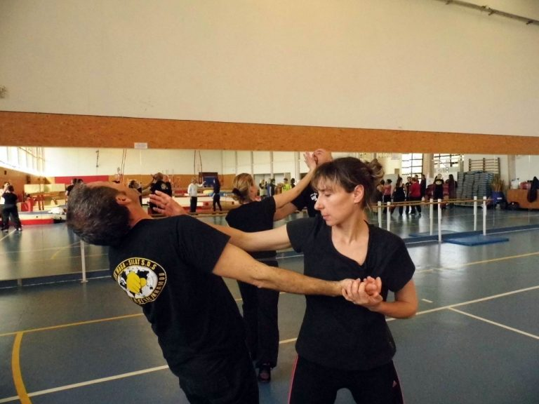 Self defense 100% femmes Club ABCC Nice Krav Maga