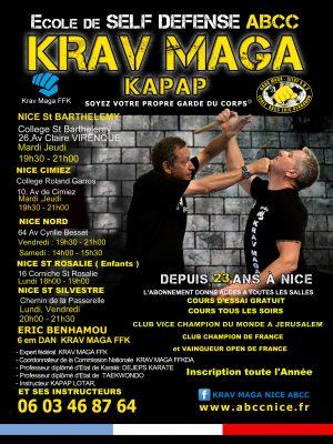 Eric Benhamou Cours Club ABCC Nice Krav Maga