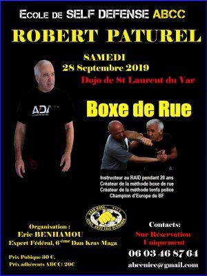 Boxe de rue Club ABCC Nice Krav Maga