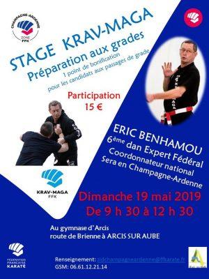 Stage preparation aux grade ABCC Nice Krav Maga Eric benhamou