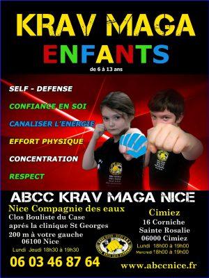 Eric benhamou Club Enfant ABCC Nice Krav Maga